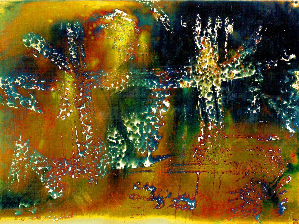 Blaz janezic photography 11 chemigram 20c Crucifix