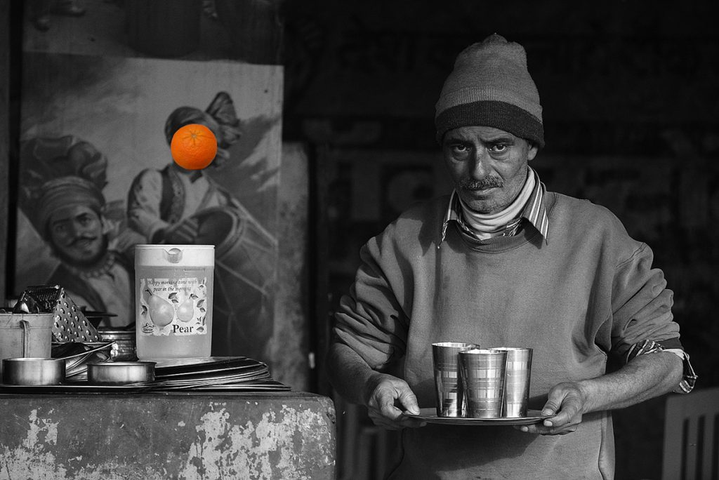 Blaž Janežič Photography Orange 11 frustrated waiter x