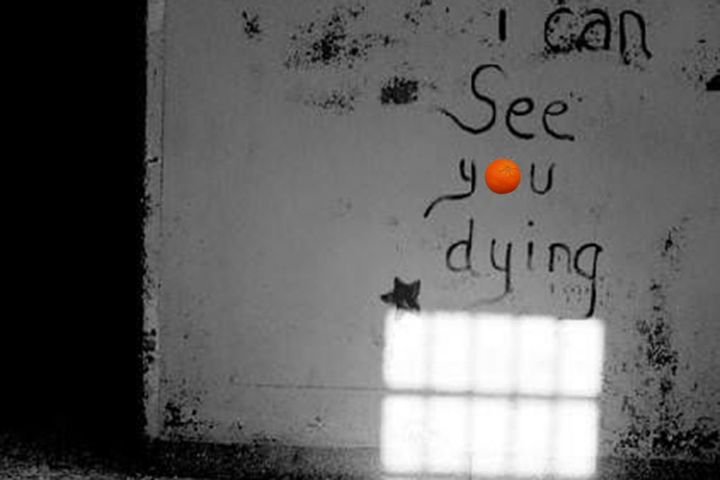 Blaž Janežič Photography Orange 17 you are dying 1 x