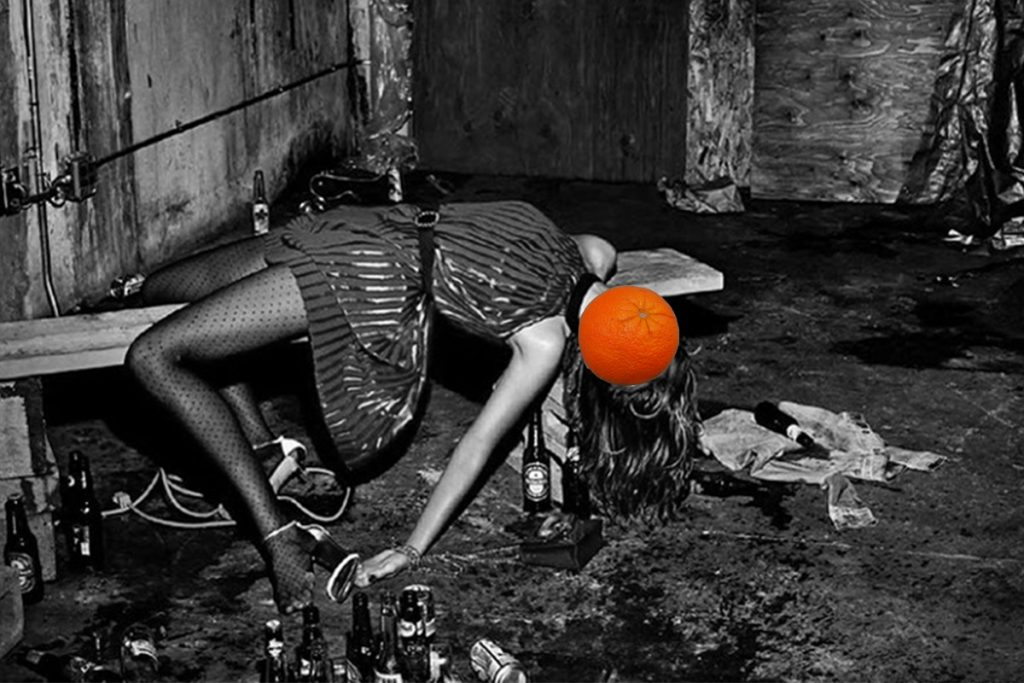 Blaž Janežič Photography Orange 20 zadeta v jarku