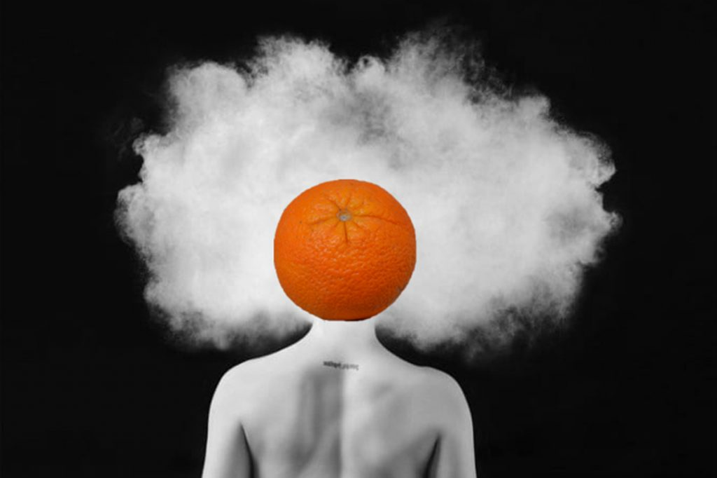 Blaž Janežič Photography Orange 23 emptiness in your head x