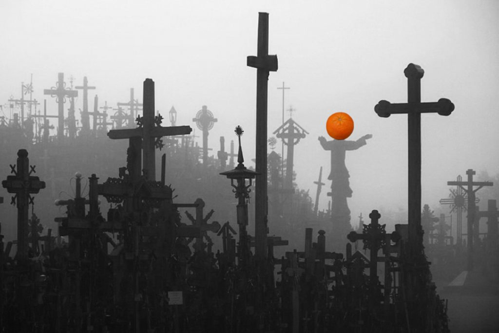 Blaž Janežič Photography Orange 8 crucifix x