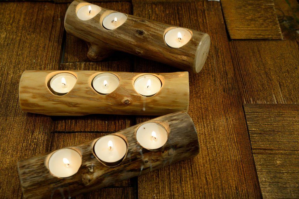 Blaž Janežič Woodwork candlestick 3