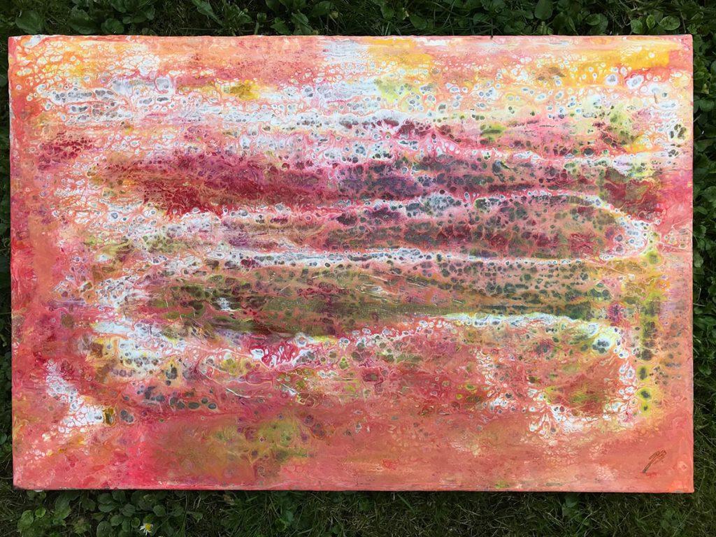 Blaž Janežič acrylic painting 1