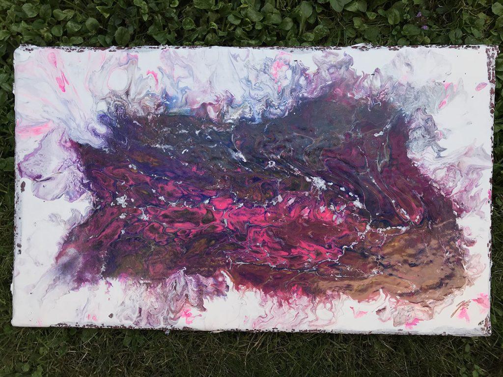 Blaž Janežič acrylic painting 4