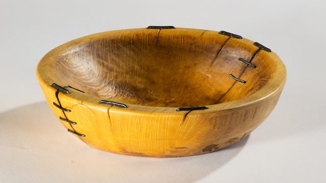 Blaž Janežič wood art bowl 1