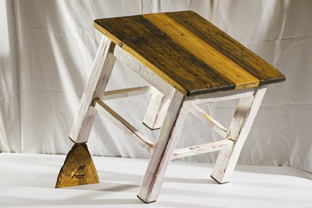 Blaž Janežič wood art chair table