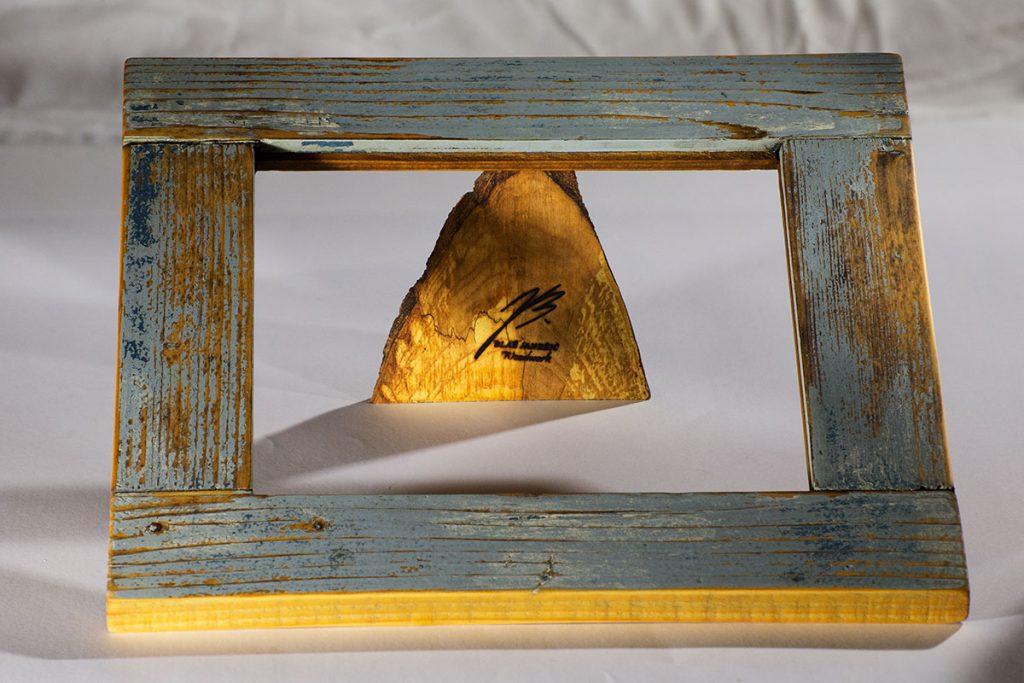 Blaž Janežič wood art frame 1