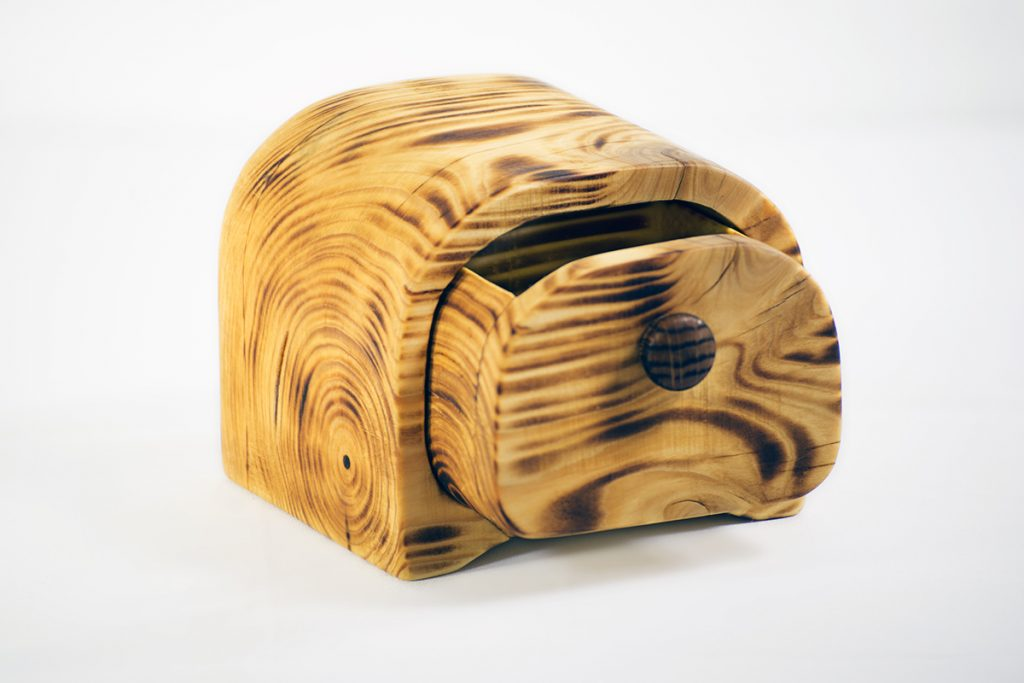 Blaž Janežič Woodwork art jewelry box