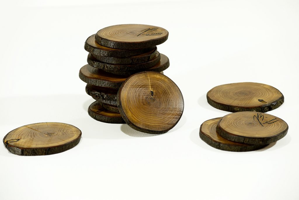 Blaž Janežič Woodwork art Coaster 5a