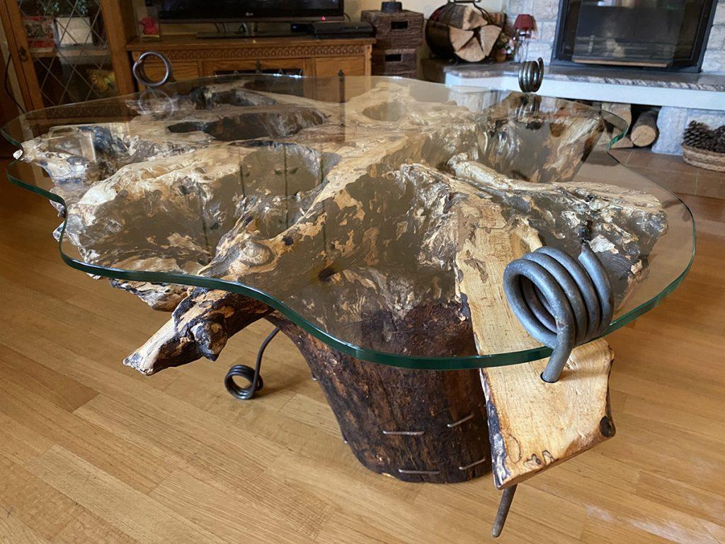 Blaž Janežič Woodwork art Coffe table 1c