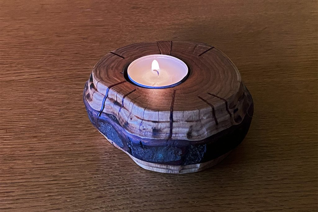Blaž Janežič Woodworking Art TeaLightHolder 6